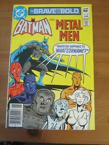 Brave and the Bold #187 Jun 1982 Batman and Metal Men - Newsstand            ZCO