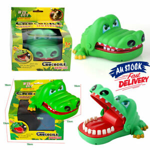 Crocodile Mouth Dentist Joke Toy for Kids Game FK Bite Finger Antistress