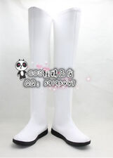 Code Geass C.C. Long White Long Flat ver cos Cosplay Shoes Boots