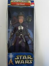 "Star Wars: Attack of the Clones Zam Wesell 12"" Doll NIB Collection Hasbro"