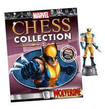 WOLVERINE figurine~Marvel Chess Collection #3~Eaglemoss~statue~hero knight~NIP