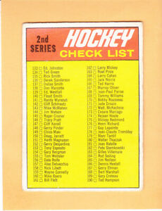 1970 71 O PEE CHEE #132 CHECKLIST 2 UNMARKED POOR-FAIR *CREASES DENTS WEAR