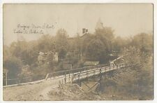 RPPC Union School PARKER PA Armstrong County Pennsylvania Real Photo Postcard