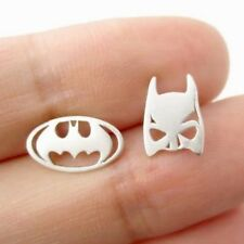 Batman Comics Super Heroes Earrings Jewellery teachers Children Free Gift Box Cv