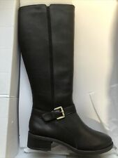 Easy Spirit Esnadette Leather Boots Knee High Brown Size 6.5 M NEW