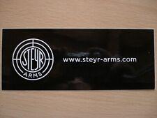 Aufkleber Sticker von Steyr Arms, Waffen, Österreich