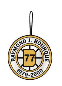 RAYMOND BOURQUE BOSTON BRUINS RETIREMENT BANNER #77 RAY