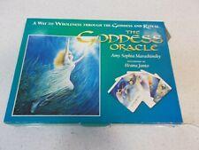 Vintage THE GODDESS ORACLE CARDS SET 1997 Deck Book Amy Marashinsky 1stEd Tarot
