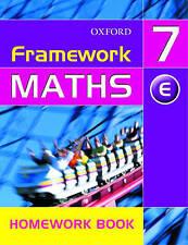 NEW Framework Maths: Year 7: Framework Maths Yr 7 Extension Homework Book