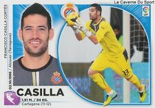 N°01 KIKO CASILLA # ESPANA RCD.ESPANYOL CADIZ.FC STICKER CROMO PANINI LIGA 2015