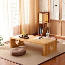 Japanese Vintage Indoor wood Furniture Asian Style Coffee Tea Living Room Low Ta