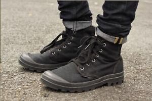 Palladium boot pallabrouse men's U.K. 8 finisterre military army retro vintage