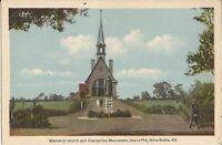 Grand Pré, Nova Scotia - CANADA - Memorial Church & Evangeline Monument
