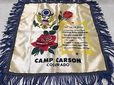 US Military Camp Carson Sweetheart Wife Pillow Cover