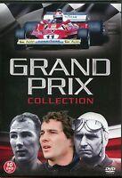 GRAND PRIX COLLECTION 10 DVD BOX SET FERRARI, JAGUAR & MUCH MORE HISTORY OF F1