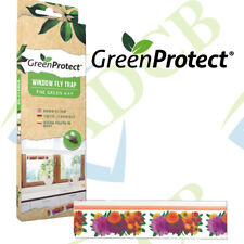 Green Protect Window Fly Trap Insect Insects Killer Bugs Fly's Window Sticker