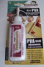 1 x Clear PVA Adhesive Glue For Paper Cardboard DIY Models Books Water Resistant