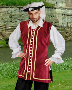 Men's Captain Easton Vest, High quality hand crafted, one by one, very COOL!!