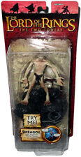 Lord of the Rings Smeagol Figure LOTR Movie Phrases NEW MIB Two Towers Toy