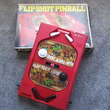 RARE MARX 1977 FLIP SHOT FLIPSHOT DERBY PINBALL GAME W/BOX 2405 NRMT VTG HTF
