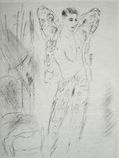 Sidonie-Gabrielle Colette Chéri Akt Erotik Tanz Chanson Marcel Vertes Paris 1929