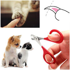 Portable Trimmer Grooming Products Cat Dog Clipper Claws Scissor Pet Nail Cutter