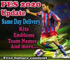 PES 2020 Option File PS4 Pro Evolution Soccer Update Kits Logos V3 READY NOW