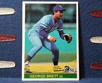 1984 Donruss Baseball #53 George Brett Kansas City Royals