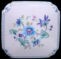 "Limoges France LEC (Leclair) Multicolor Floral Jewelry / Trinket Box 6-3/8"""