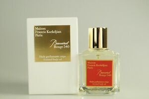MAISON FRANCIS KURKDJIAN- BACCARAT ROUGE SCENTED BODY OIL 70ML OHNE FOLIE