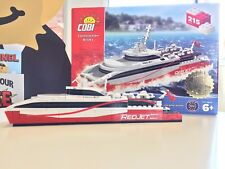 Red Funnel Red Jet Cobi Construction Model