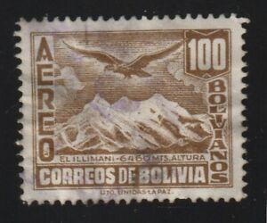 Bolivia 1941 #C85 Mt Illimani and Condor - Used