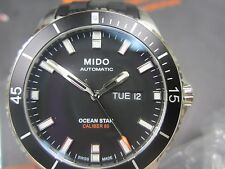 MIDO OCEAN STAR MEN'S WATCH AUTOMATIC STAINLESS S RUBBER SAPPHIRE M0264301705100