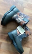 Boys Size 13 Deer Stag Boots Outdoor Hunting Camo colored
