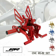 CNC Footrests Rearset Rear set For BMW HP4 13-14 S1000R 14-15 S1000RR 09-14
