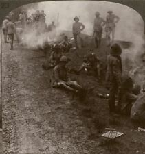 Early Morning Camp Fires & Breakfast in the Persian Gulf - Stereoview #123