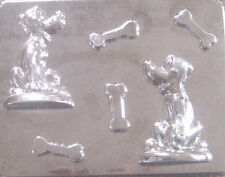 Pluto with Dog Bones Candy Mold #114 - NEW