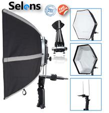 "Selens Hexagonal Umbrella 20"" Foldable Flash Softbox + L-Shape Adapter Ring Kit"