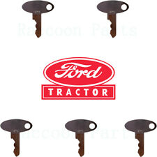 5 Ford Tractor Ignition Keys 5252 1210 1320 1520 1530 1620 1630 1715 1720 1725