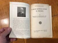 A High School Course in Physics FREDERICK D. GORTON D. Appleton Co. Antique Book