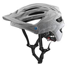 Troy Lee Designs Mountain Bike Casco A2 Mips Pinstripe 2 bianchi MD / L