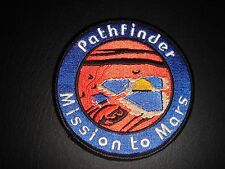 """NEW OLD STOCK NASA SPACE SHUTTLE ERA """"PATHFINDER-MISSION TO MARS"""" IRON ON PATCH"""