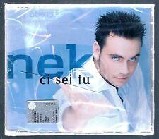 NEK CI SEI TU CD SINGOLO SINGLE cds SIGILLATO!!!
