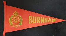 NEW ZEALAND MILITARY PENNANT - Army base at Burnham - Kia pono Tonu