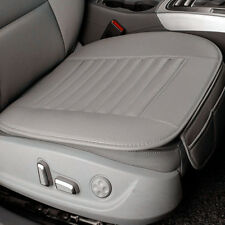 Gray Breathable PU Leather Bamboo Car Seat Cover Pad Mat for Auto Chair Cushion