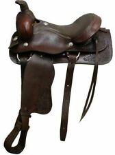 """16"""" Circle S Roper Style Saddle."""