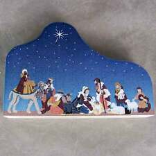 "Cat's Meow Village Christmas Nativity Scene ""For to us a Child is Born"" #10-602"