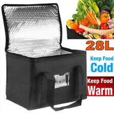 More details for 28l large food delivery insulated bags pizza takeaway thermal warm/cold bag ruck