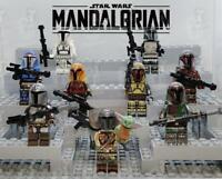 Star Wars Mandalorian Custom Minifigures Complete Sets US Seller MOC Toys Kids