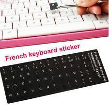 1435 48 Keys Laptop Keyboard Skin Decal Keypad AZERTY Stickers Adhesive